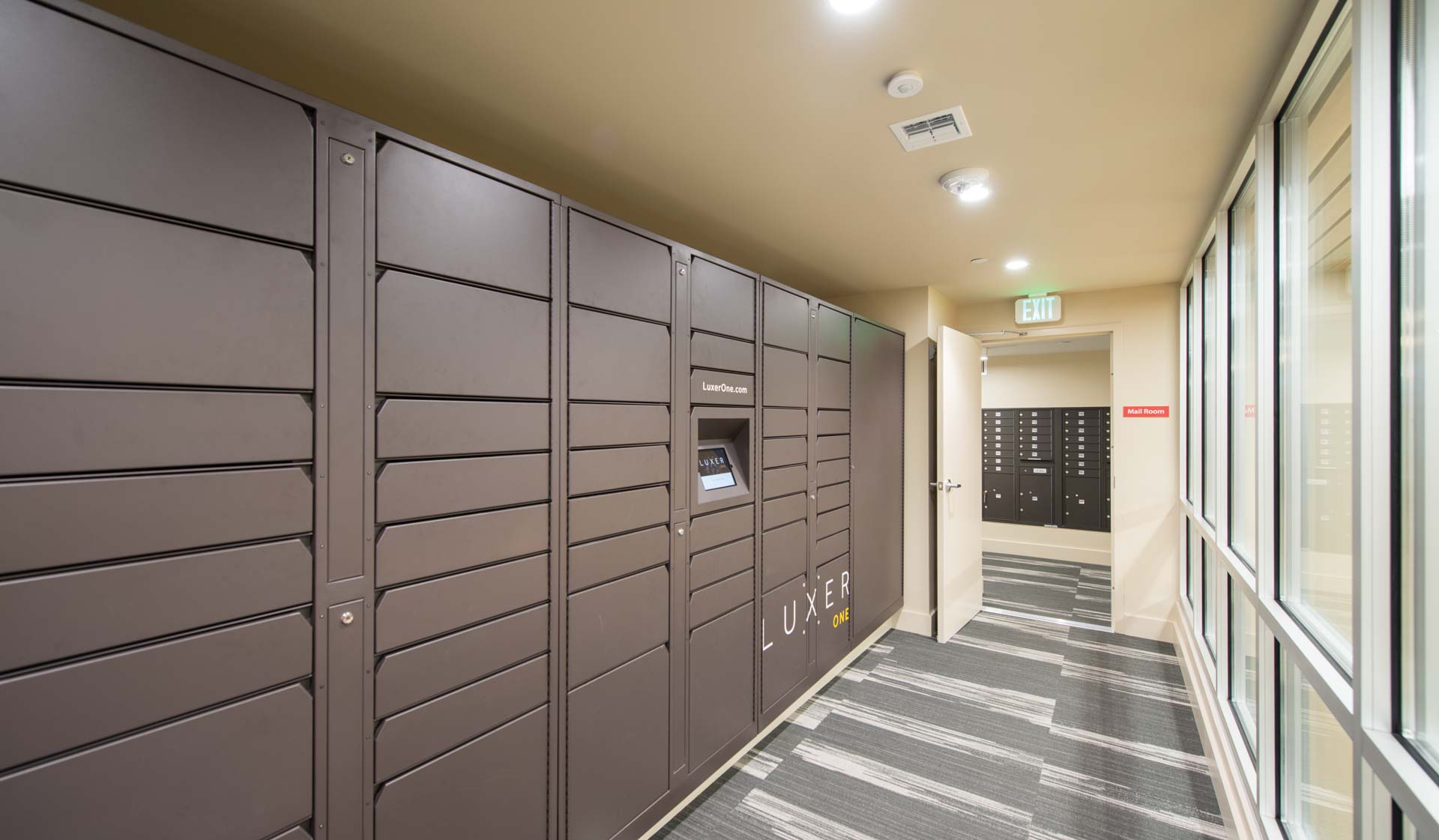 Chestnut Hall Apartments - package lockers